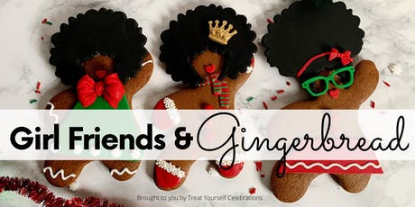GIRLFRIENDS & GINGERBREAD: Cookie Decorating and Cocktails Pop-Up tickets