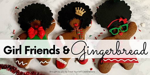 GIRLFRIENDS & GINGERBREAD: Cookie Decorating and Cocktails Pop-Up
