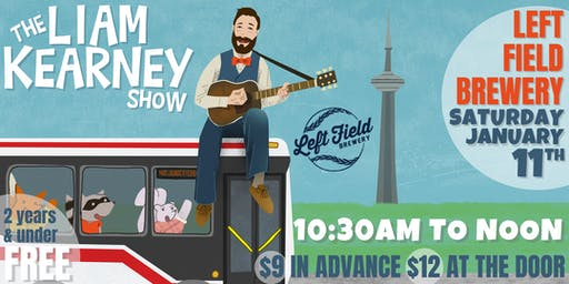 The Liam Kearney Show At Left Field Brewery