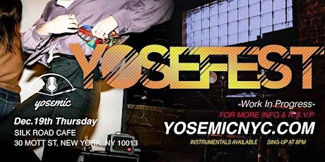 YOSEFEST -Work in Progress- tickets