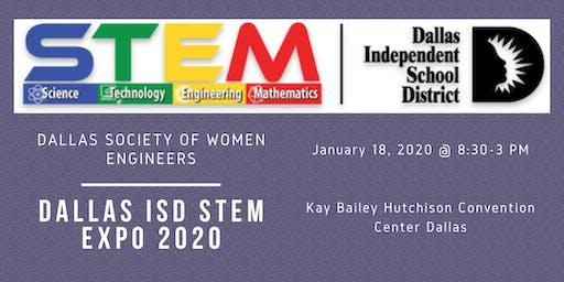 Dallas ISD STEM Expo 2020 Volunteers
