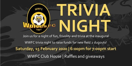 Wynnum Wolves Trivia Night tickets