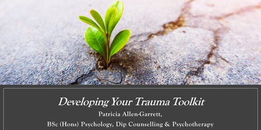 Developing Your Trauma Toolkit 2 Day Workshop May 7th & 8th 2020