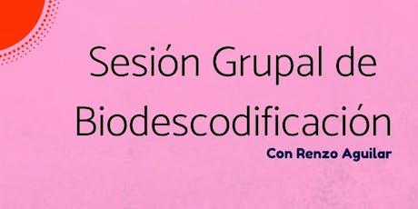 Sesión Grupal de Biodescodificación entradas