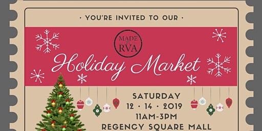 Made by RVA - Holiday Market