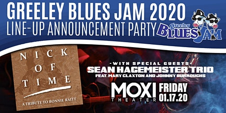 Greeley Blues Jam 2020 Line-Up Announcement Party tickets