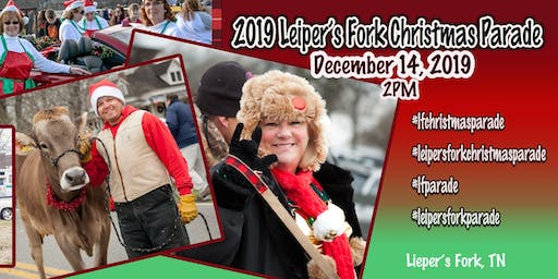 Walk with Goldfish Swim School in the 2019 Leiper's Fork Christmas Parade