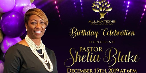 Pastor Shelia's Birthday Celebration
