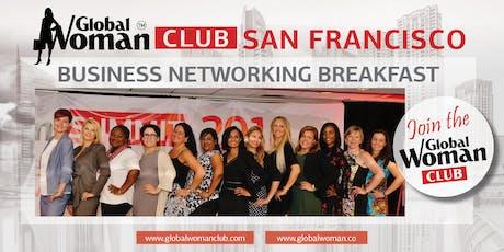 GLOBAL WOMAN CLUB SAN FRANCISCO: BUSINESS NETWORKING BREAKFAST - MARCH tickets