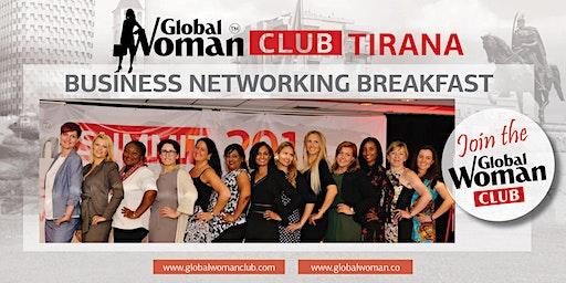 GLOBAL WOMAN CLUB TIRANA: BUSINESS NETWORKING BREAKFAST - MARCH