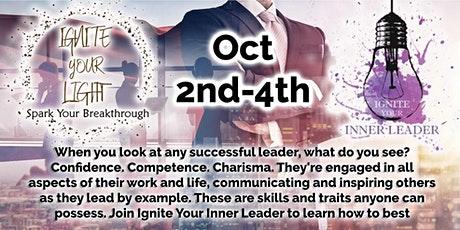 Ignite Your Inner Leader (Oct) tickets