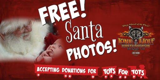 Free Santa Photos