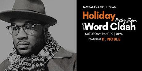 Jambalaya Soul Slam Bull City Word Clash Poetry Slam tickets