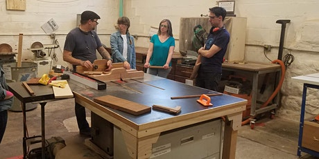Intro to Wood Shop tickets