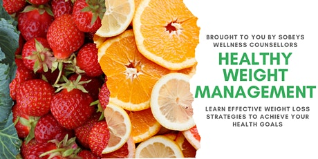 Sobeys Wellness Counsellors Present: Healthy Weight Management tickets