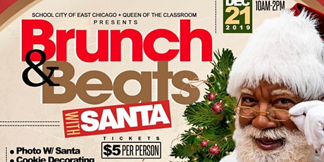 Brunch & Beats With Santa tickets