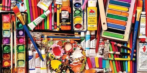 Middle School Art Club - Six Week Workshop - Grades 6th-9th