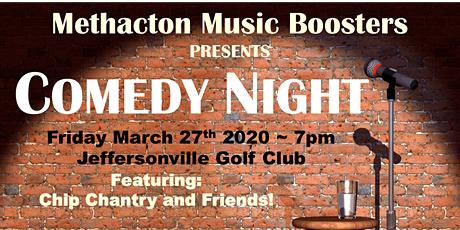 COMEDY NIGHT 2020 by Methacton Music Boosters tickets