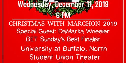 Christmas With Marchon at UB!