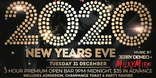 New Year's Eve at Hemingway's Cafe, Seaside Heights NJ