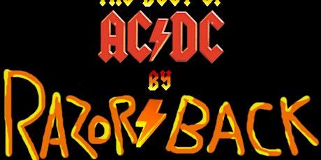 Hommage AC/DC avec Razor/back billets