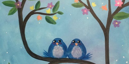 Paint and Sip Night at Art Cafe!