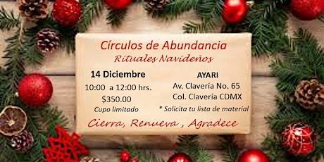 Círculos de Abundancia y Rituales Navideños boletos