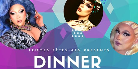 Dinner & Drag with London's Haus of Drag tickets
