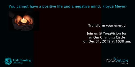 Om Chanting for the New Year tickets