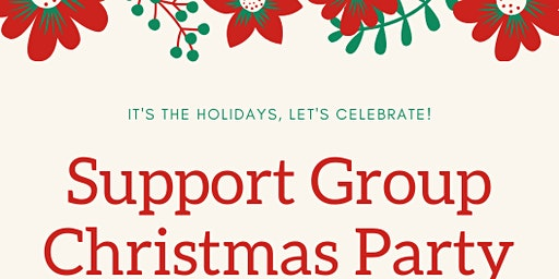 Support group Christmas party