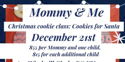 Mommy & Me Christmas Cookie class