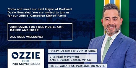Ozzie Gonzalez Official Campaign Kickoff Party tickets