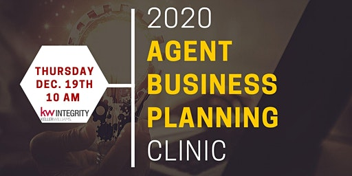 2020 Agent Business Planning Clinic