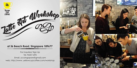 Latte Art Workshop tickets