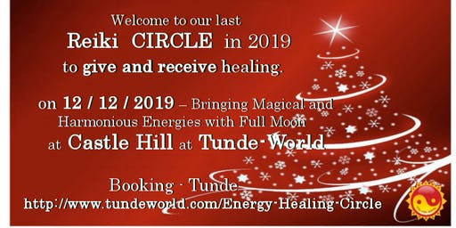 Healing Circle before Christmas at Tunde-World