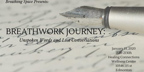 Breathwork Journey: Unspoken Words and Lost Conversations CONCESSION tickets