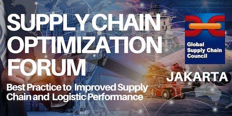Supply Chain Optimization Forum (Jakarta) tickets