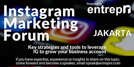 Instagram Marketing Forum (Jakarta) tickets