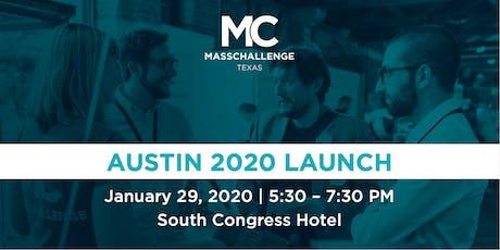 MassChallenge Texas in Austin Launch 2020 tickets