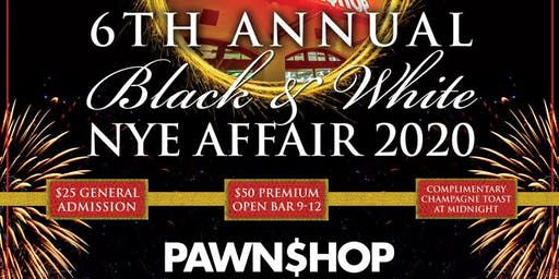 New Years Eve 2020 at Pawn Shop