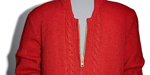 Knit Mr Roger's Cardigan with a Cabled Twist!