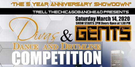 Divas and Gents Dance and Drumline Competition 2020 tickets