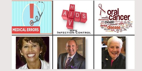ACDHA Medical Errors, Treating the  Cancer Patient, and HIV/AIDS tickets