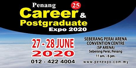 25th Penang Career & Postgraduate Expo 2020 tickets
