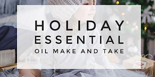 Holiday Spa Make and Take Workshop