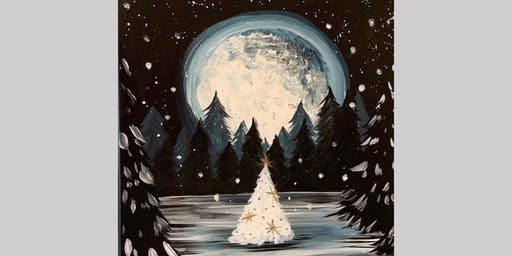 Paint Party - Snowy Christmas