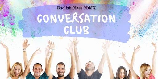Free English Conversation Club Party!