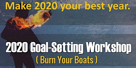 Set Goals like a Conquistador - Burn the Boats Goal-Setting Workshop tickets