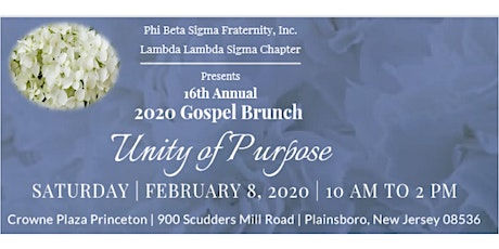 Unity of Purpose tickets