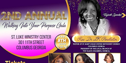 2nd  Annual Walking Into Your Purpose Gala